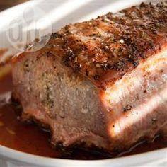 Foto de la receta: Lomo de cerdo al horno