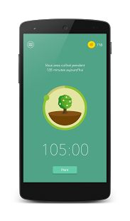 Curb your phone addiction by planting a seed in Forest and watching it grow into a tree over the next 30 minutes. If you relapse, you'll kill the tree. There's also a free Chrome and Firefox extension, through which you can blacklist certain time-sucking websites and watch your tree grow while you stay away from them.