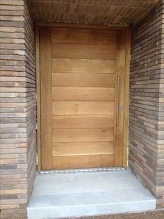 Solid Oak Panelled Front Door - Fully Clear Finished - From Cheshire Joinery Ltd