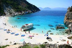 Agiofylli beach, Lefkada