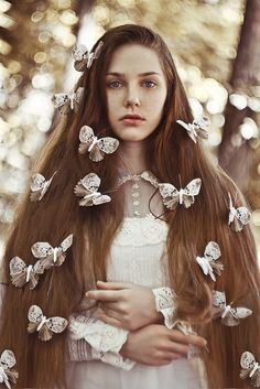 butterflies by Anna1Anna.deviantart.com on @deviantART