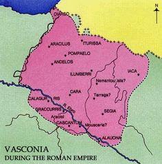 baskoniainperioanengh.gif (359×364) Spain History, Medieval, Roman Empire, Maps, Historia, Pyrenees, Norte, Roman Britain, Mid Century