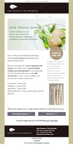 23 best restaurant email newsletters images email newsletters