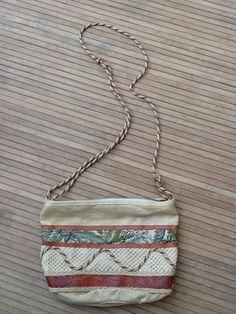 33 East by Etra Multi Color Tweed Purse Handbag Clutch EUC in Handbags & Purses   eBay