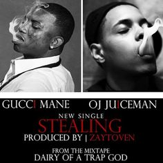 Gucci gets back to the music as he drops of his new single 'Stealing' featuring OJ Da Juiceman. Produced by Zaytoven. His new project Diary Of A Trap God drops later tonight. 9 10 Gucci Mane OJ Da Juiceman – Stealing Related Posts Young Scooter (youngscooter) Ft Gucci Mane (@Gucci Mane) & OJ Da Juiceman (@ojdajuiceman32) [...]