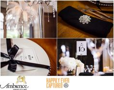 1920's wedding theme so fabulous!