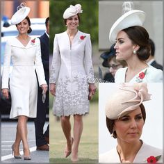 """284 Likes, 1 Comments - KatePippamiddleton (@katepippamiddleton) on Instagram: """"Kate, Duchess of Cambridge wore (L) Alexander McQueen and Lock & Co (R) Catherine Walker 'Melrose'…"""""""