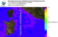 #meteo #forecast #fishing #pesca #mediterranean #mediterraneo #sea #mare 06/07/2013 #Sardegna #Sardinia #Italy #Italia