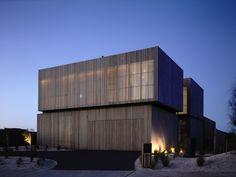 Wolveridge Architects, fajna scianka + osietlenie