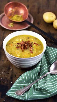 Das möchte ich heute mit KptnCook kochen: Kartoffel-Wirsing-Suppe mit Bacon