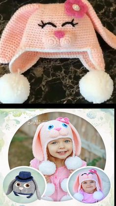 Cute crochet easter bunny hats and baskets to make. Etsy find crochet pattern (affiliate link) Cute crochet easter bunny hats and baskets to make. Baby Knitting Patterns, Knitting For Kids, Crochet For Kids, Baby Patterns, Crochet Patterns, Knitting Projects, Crochet Ideas, Crochet Projects, Sewing Projects