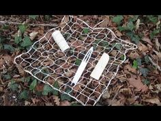 Tressage filet carré - méthode diagonale - YouTube