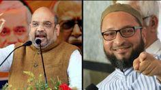Amit Shah Asaduddin Owaisi struck secret deal for Bihar polls Ex BJP MLA