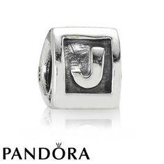 Pandora J Charm 79903