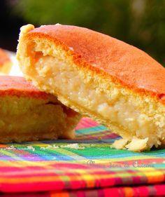 Les tourments d'amour - petits gâteaux des îles des Saintes - 3 couches (donc noix de coco)