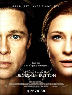 Directed by David Fincher. With Brad Pitt, Cate Blanchett, Tilda Swinton, Julia Ormond. Tells the story of Benjamin Button, a man who starts aging backwards with bizarre consequences. Films Hd, Films Cinema, Hd Movies, Movies Online, Movies And Tv Shows, Movies Free, Watch Movies, Romance Movies, Cate Blanchett