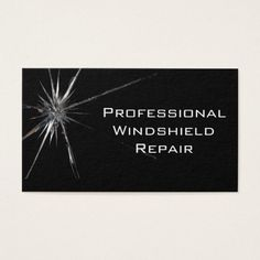 New Auto Body Business Card