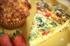 HAPPY MOTHER'S DAY RECIPES ...❤ ❤ ❤ Spinach and Cheddar Frittata Recipe~ INGREDIENTS: Unsalted butter - Medium red onion - Large eggs - Half-and-half - Shredded sharp Cheddar cheese - Salt and pepper - Fresh baby spinach - Grape tomatoes