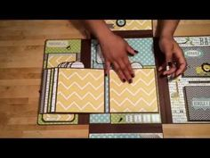 "▶ ""Bundle of Joy"" Baby Memory Folio - YouTube"