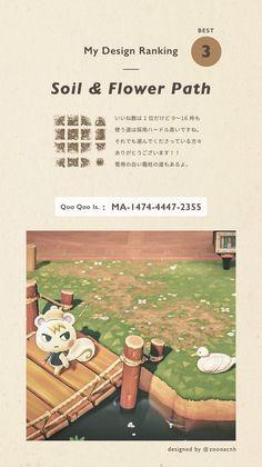 Animal Crossing Wild World, Animal Crossing Guide, Animal Crossing Qr Codes Clothes, Ac New Leaf, Path Design, Motifs Animal, Animal Games, Island Design, Island Life