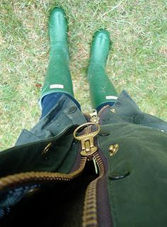 barbour and boots