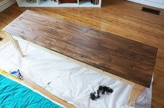 Ikea NORNAS Bench and TARVA Bed Frame Hack