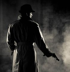 Shelton Muller, Photographer: Film Noir Workshop - Black Gets Blacker Mafia, Detective, Film Noir Photography, The Villain, Dieselpunk, Light And Shadow, Black And White Photography, Light In The Dark, Inspiration