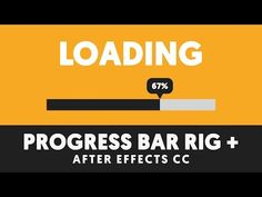 T049 Advanced Loading Bar Rig in After Effects using Expressions & Interpolation - YouTube