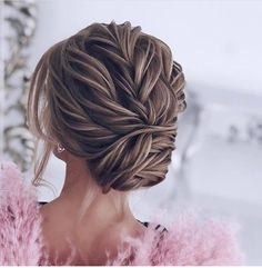 33 Gorgeous Updo Braided Hairstyles for Any Occasion; Wedding up… – Hairstyles Theme Wedding Hair And Makeup, Bridal Hair, Hair Wedding, Wedding Bride, Wedding Reception, Wedding Hairdos, Wedding Dress, Bride Hairstyles, Pretty Hairstyles
