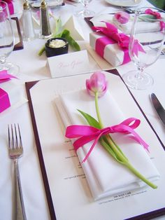 {Easter placesetting}