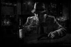 Film Noir #1 B+W   Black and White version of a Film Noir sh…   Flickr