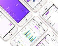 Teaser for iKROS App case study on Behance
