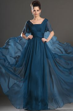eDressit 2013 New High Quality Blue Short sleeves Mother of the Bride Dresses  For mom