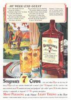 Seagram's Seven 7 Crown 1942 Ad Picture