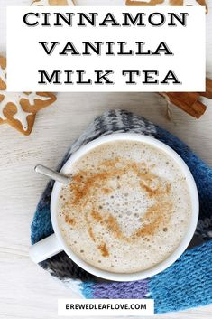 This cinnamon vanilla milk tea recipe is just the ticket for a tasty drink to sa… Dieses Rezept für Zimt-Vanille-Milchtee. Yummy Drinks, Healthy Drinks, Yummy Food, Healthy Nutrition, Healthy Eating, No Calorie Foods, Low Calorie Recipes, 21 Day Fix, Milk Tea Recipes