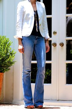 C.Style Blog: 3 Basics = 1 Outfit i need these jeans!