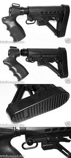 12 Gauge Adjustable Shotgun Stock With Buttpad Sling Adapter for Mossberg for sale online Mossberg 500 Tactical, Mossberg Maverick 88, Tactical Shotgun, Tactical Accessories, Gauges, Hand Guns, Shotguns, Rifles, Weapons