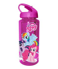 Love this Pink My Little Pony 20-Oz. Water Bottle by My Little Pony on #zulily! #zulilyfinds