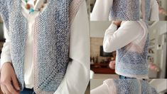 Spor yelek gençler bayılacak yapımı kolay yelek modeli 152 - YouTube Easy Knitting, Knit Fashion, Leg Warmers, Knitwear, Sweaters, How To Wear, Zimmerman, Women, Cape Clothing
