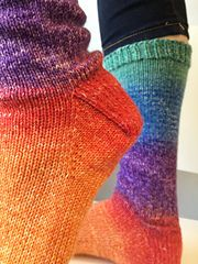 Ravelry: Amy's Favorite Toe-Up Socks pattern by Knitcircus Yarns