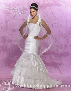 Symphony Bridal Bridal Gown S2801 - Visit Wedding Shoppe Inc. for designer bridal gowns, bridesmaid dresses, and much more at http://www.weddingshoppeinc.com