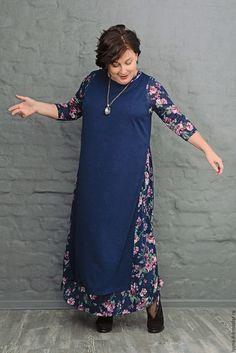 Майка-чехол из вязаного трикотажа темно-синяя. Арт. 0987 – купить или заказать в интернет-магазине на Ярмарке Мастеров   Эксклюзивная вещь - майка-чехол из однотонного…