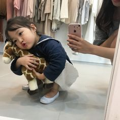 Kids Korean and Ulzzang Cute Asian Babies, Korean Babies, Asian Kids, Cute Babies, Ulzzang Kids, Ulzzang Couple, Cute Family, Family Goals, Kwon Yul