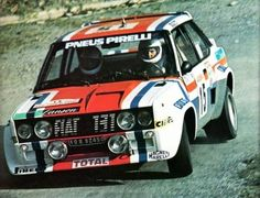 FIAT 131 ABARTH-Michele Mouton