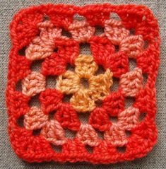 step by step how-to for a classic granny square.  Look out, y'all... I'm teaching myself to crochet and gettin' my afghan on.