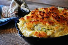 Use gluten free flour and bread crumbs to make Bakeaholic Mama: Quinoa Spinach Mac n' Cheese.