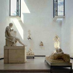 Antonio Canova gallery extension (1957)—Carlo Scarpa Possagno, Italy.