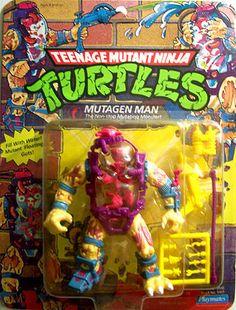 Ninja Turtles Mutagen Man Action Figure
