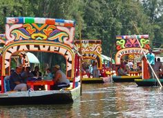 Xoximilco No. 2: Another spot in Mexico for 'fiestas on the water'