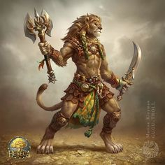 Ideas For Tattoo Lion Design Leo Strength Tattoo İdea - Ideas For Tattoo Lion Design Leo Strength Custom Design Tattoo Ideas - Fantasy Character Design, Character Art, Character Inspiration, Fantasy Creatures, Mythical Creatures, Strength Tattoo Designs, Strength Tattoos, Bastet, Hanuman Wallpaper